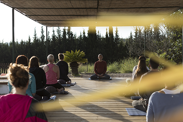 Candlelit Yoga Winter Solstice with Mudra, Mantra and Meditation