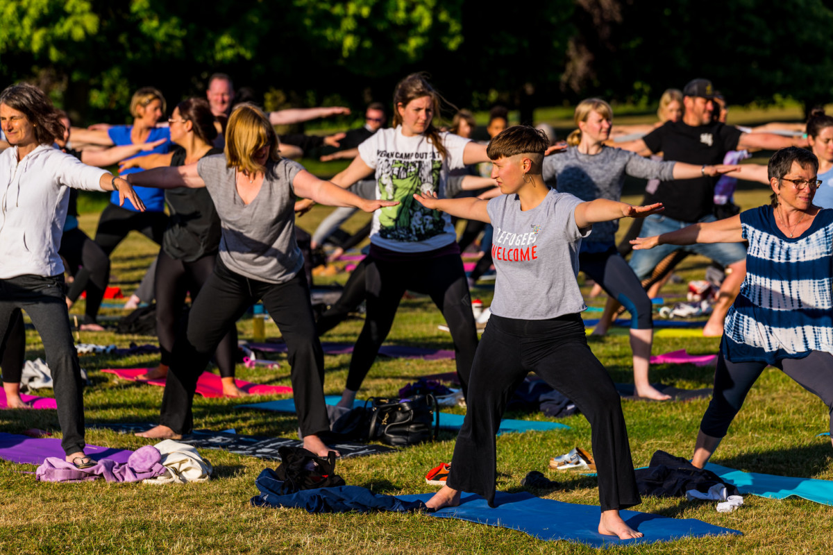 Yoga for World Refugee Week 2021 –  'We Cannot Walk Alone'