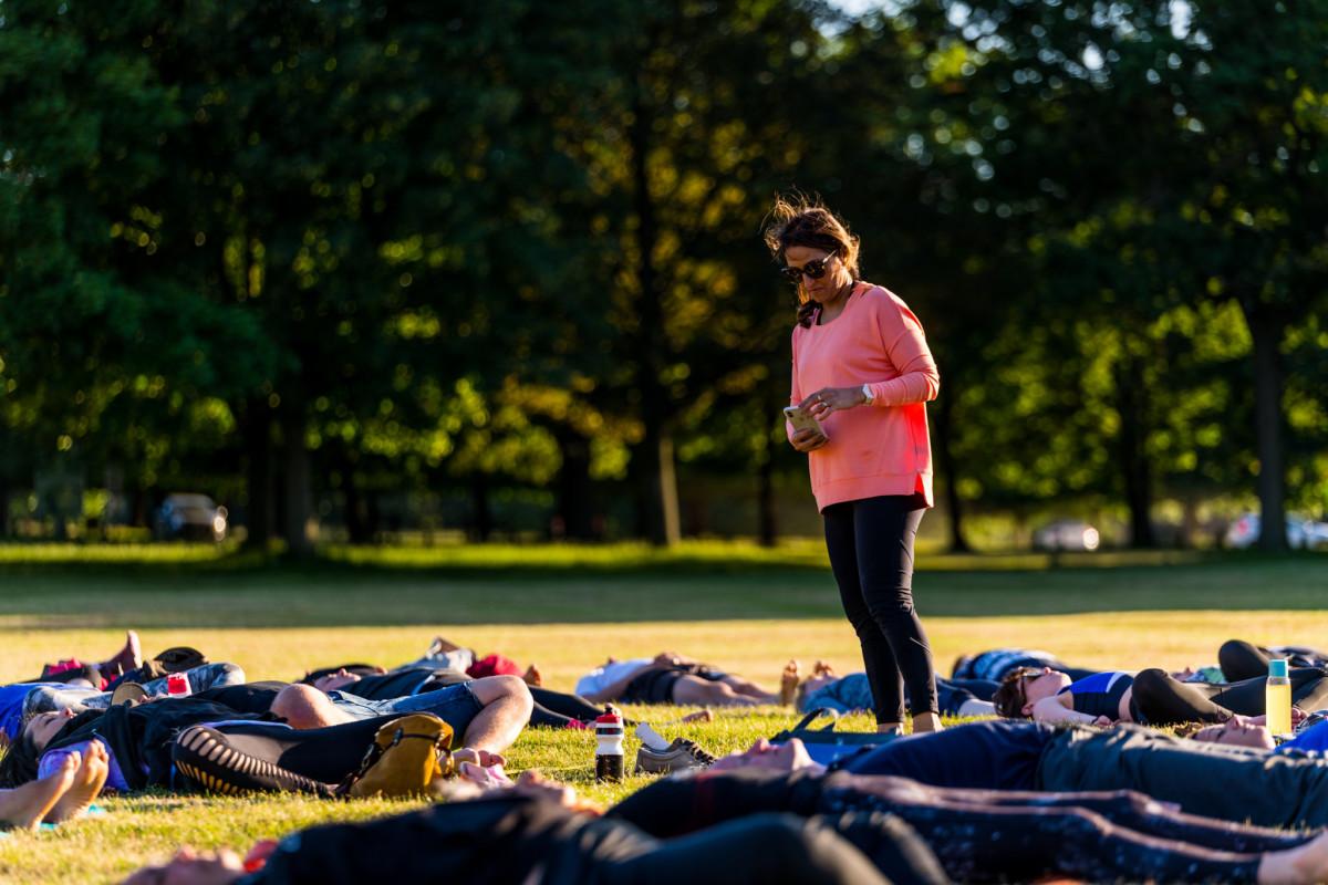 Walking Meditation on World Refugee Day 20 June 2021