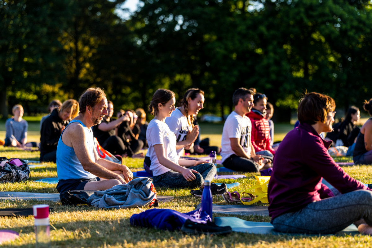 Yoga in the Garden – World Refugee Day 2020