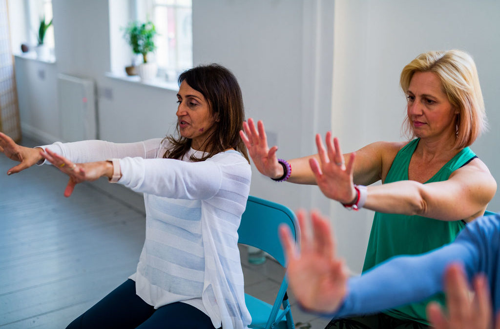 Autumn Chair Based Yoga CPD
